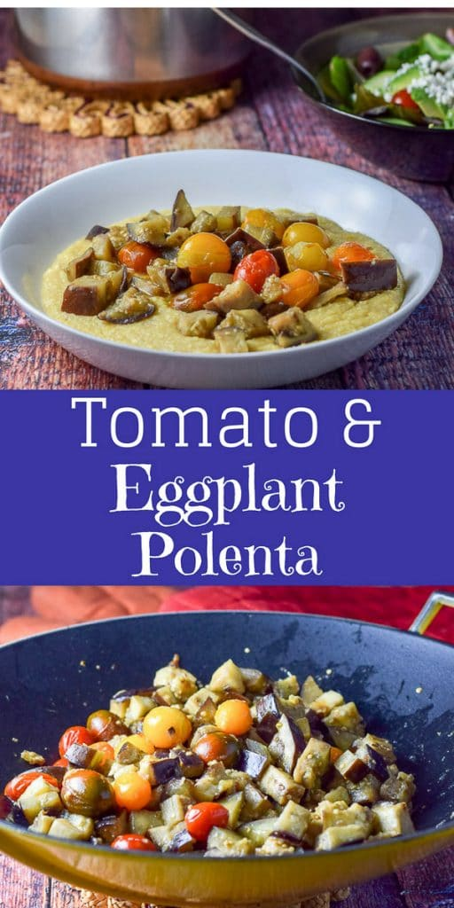 Tomato and Eggplant Polenta for Pinterest 1