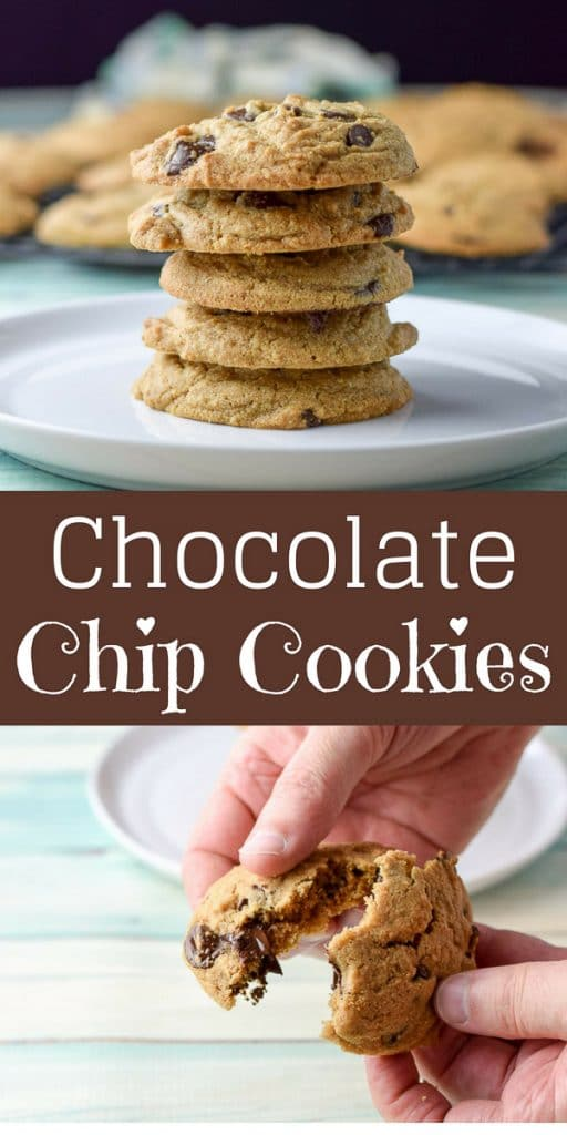 Chocolate Chip Cookies for Pinterest