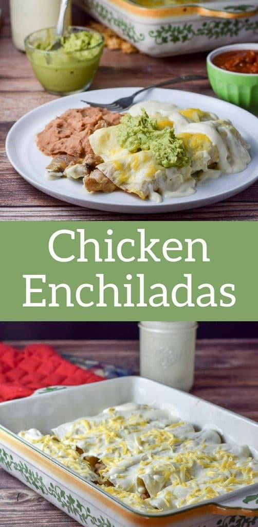 Chicken Enchiladas for Pinterest 1