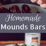Homemade mounds bars are simply the best! I love them because they have healthy ingredients but don't lack in taste!