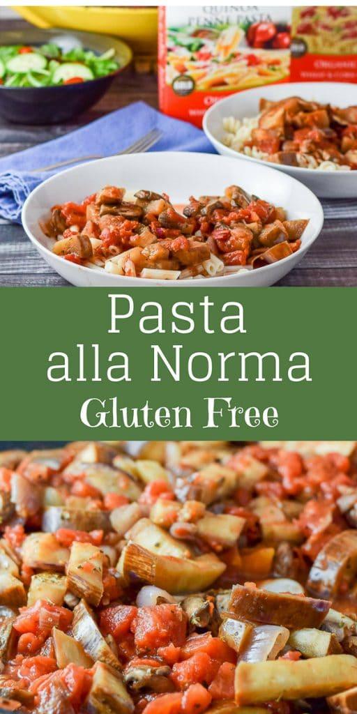 Pasta alla Norma for Pinterest