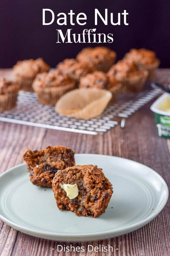 Date Nut Muffins for Pinterest 3