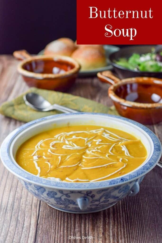 Easy Butternut Squash Soup for Pinterest 3