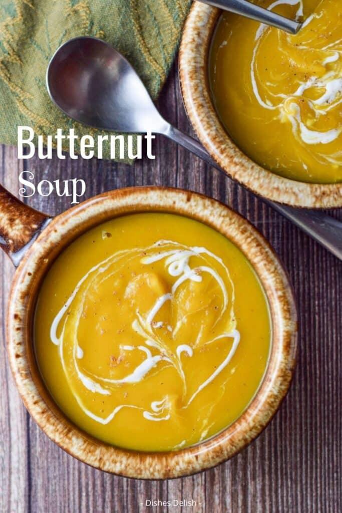 Easy Butternut Squash Soup for Pinterest 4