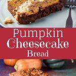 pumpkin cheesecake bread