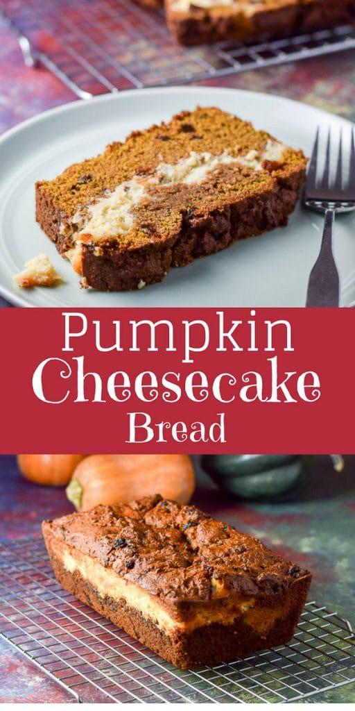 pumpkin cheesecake bread for Pinterest 1