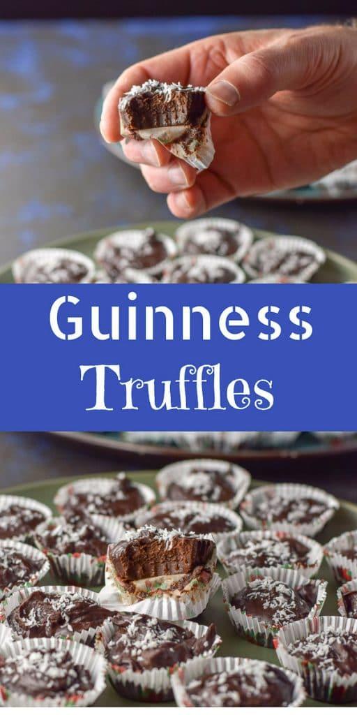 Guinness Chocolate Truffles for Pinterest 1