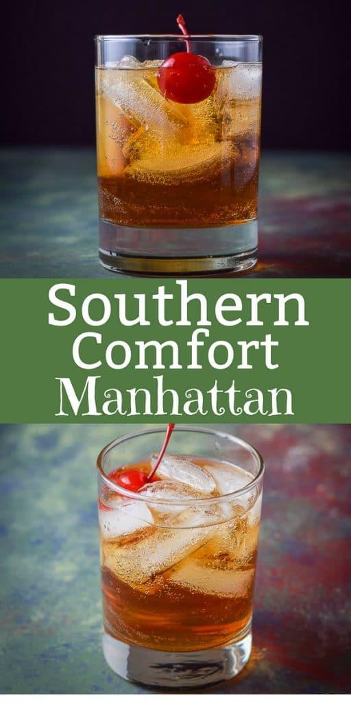 Southern Comfort Manhattan for Pinterest