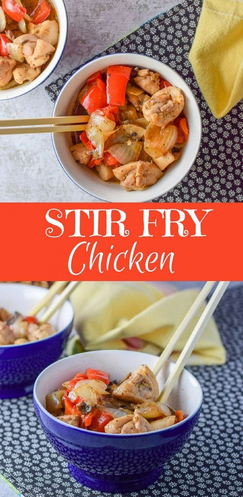 Stir Fry Chicken for Pinterest 1