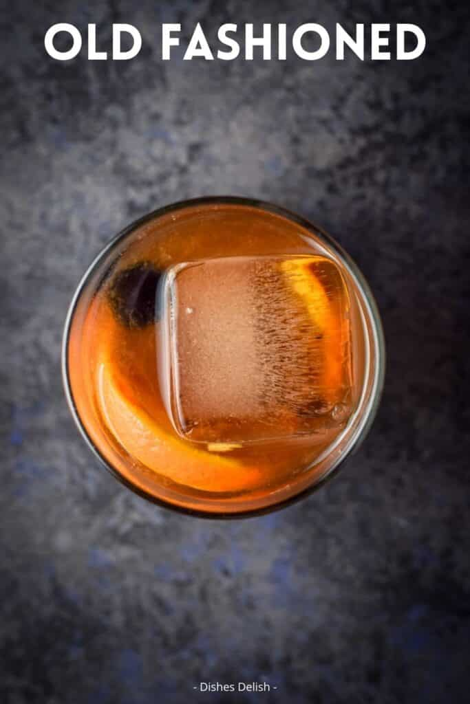 Classic Old Fashioned Cocktail for Pinterest 4