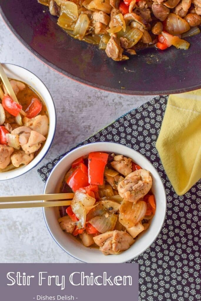 Stir Fry Chicken for Pinterest 5