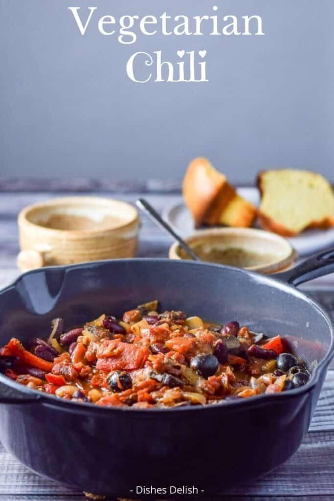 Vegetarian Chili for Pinterest 2