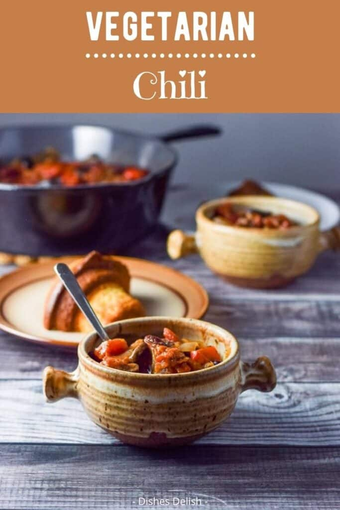 Vegetarian Chili for Pinterest 3