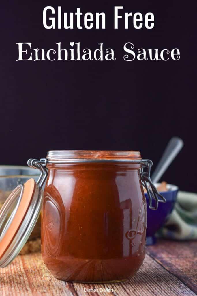 Gluten Free Enchilada Sauce Sauce for Pinterest 3