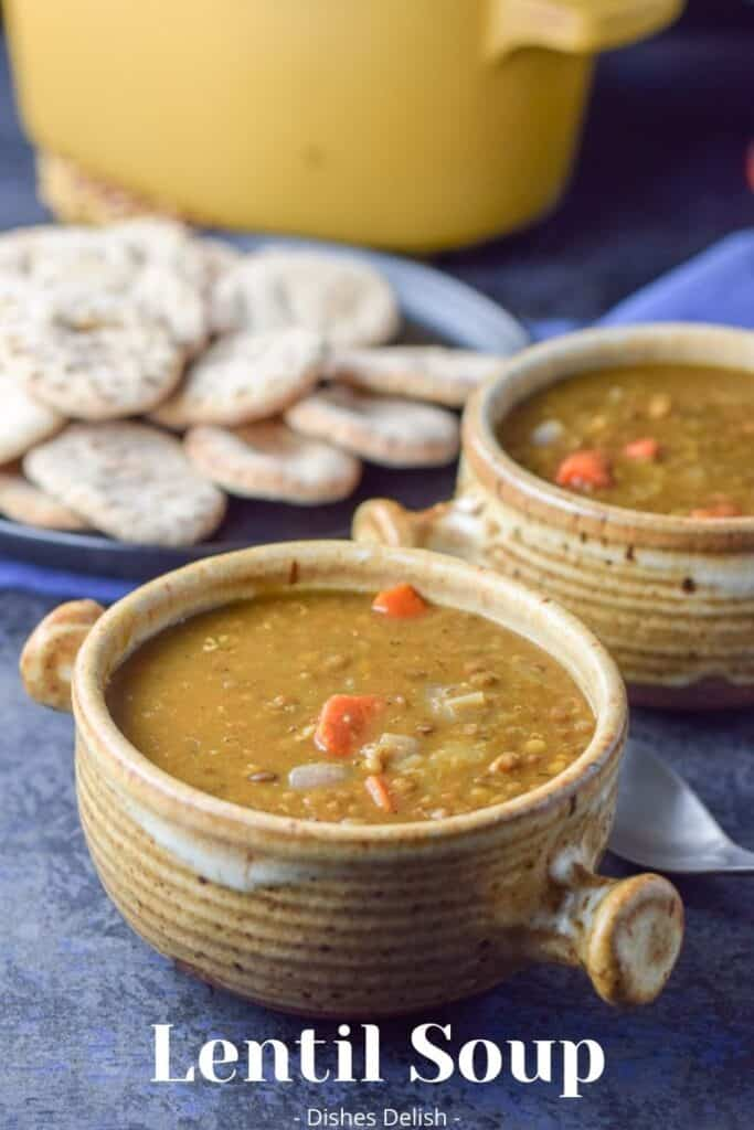 Instant Pot Lentil Soup for Pinterest 4