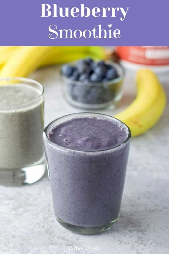 Blueberry Banana Spinach Soothie for Pinterest 2