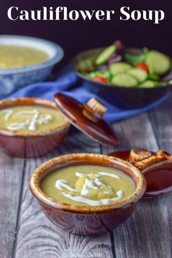 Easy Cauliflower Soup for Pinterest 3