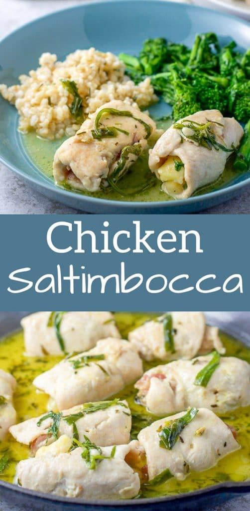 Chicken Saltimbocca for Pinterest 1