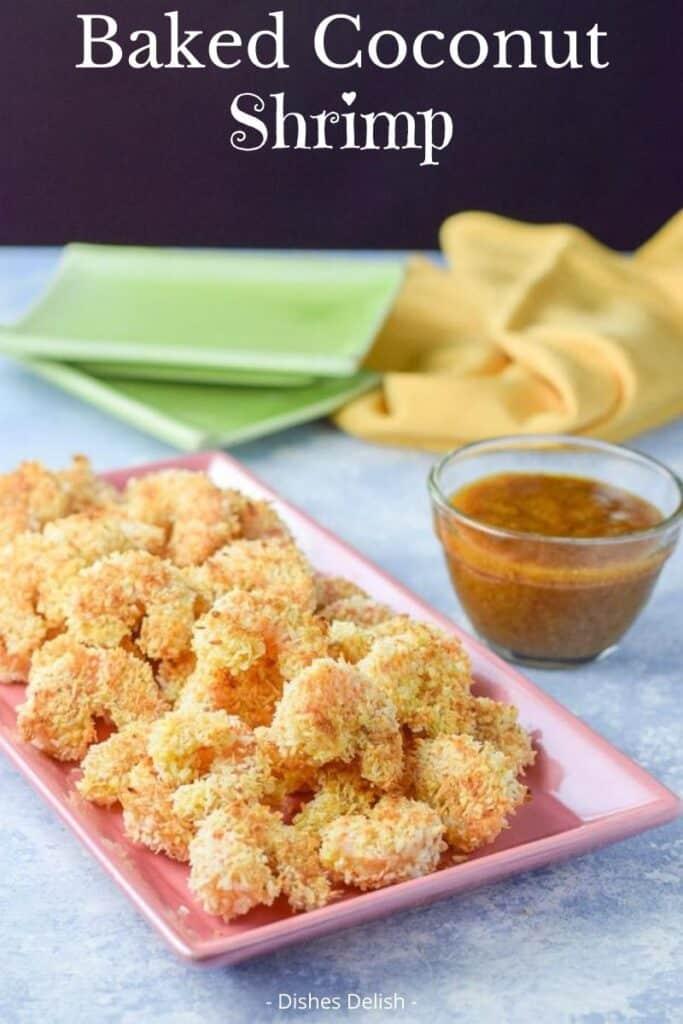 Baked Coconut Shrimp for Pinterest 2