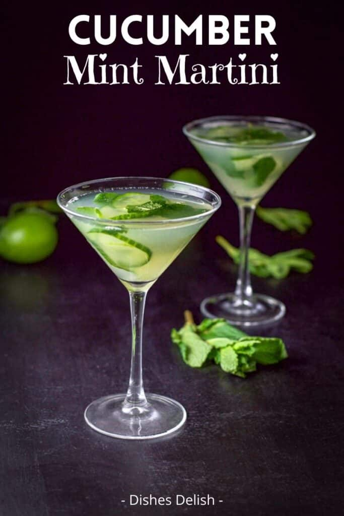 Cucumber Mint Martini for Pinterest 4