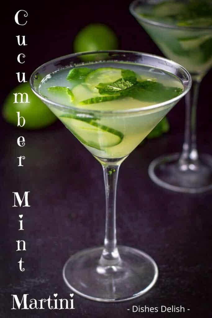 Cucumber Mint Martini for Pinterest 5