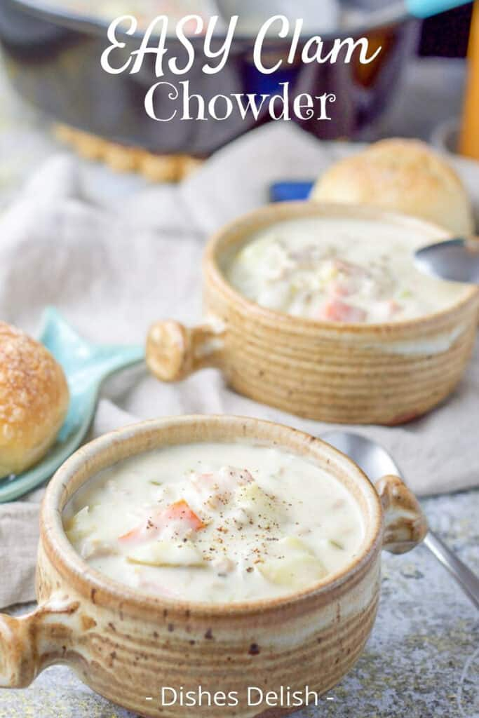 Easy Clam Chowder for Pinterest 5