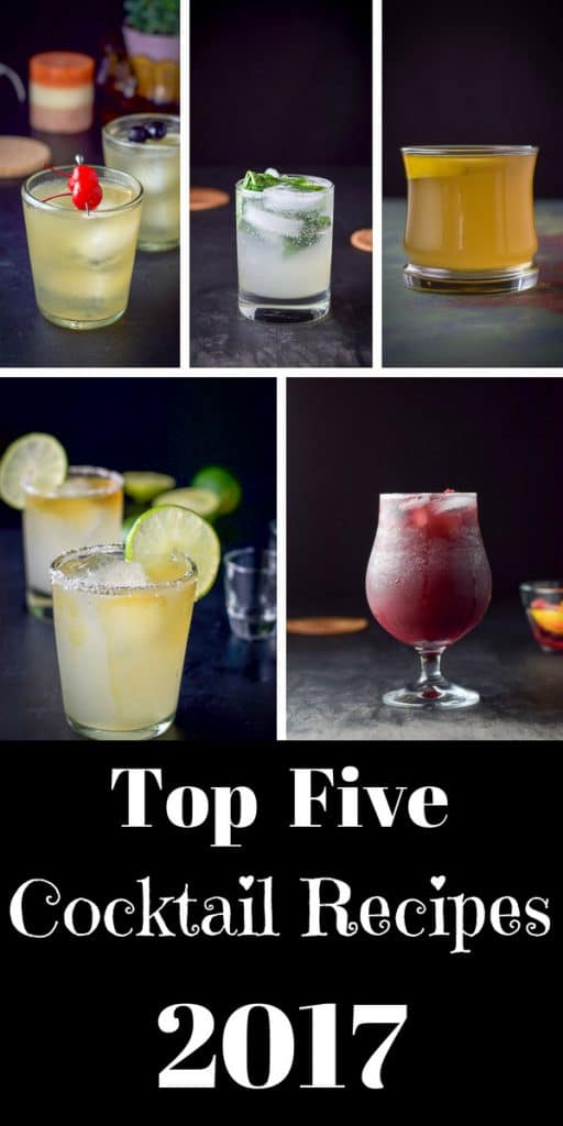 Top Five 2017 Cocktail Recipes for Pinterest 1