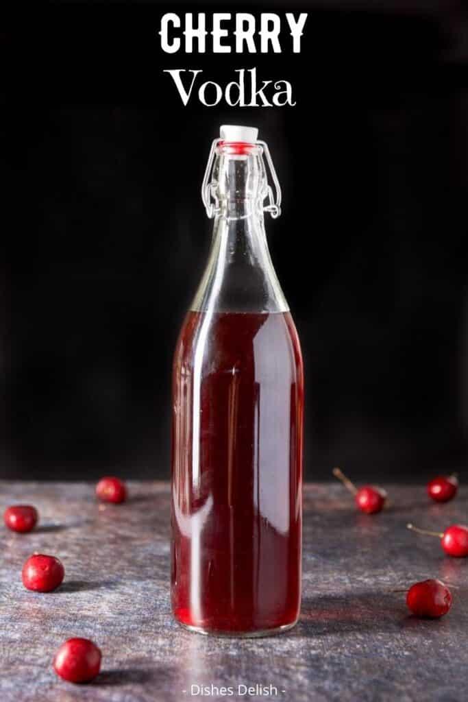 Cherry Infused Vodka for Pinterest 3