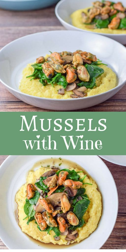Mussels with Wine Sauce for Pinterest 2