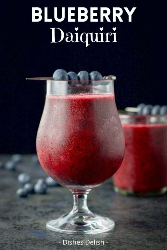 Blueberry Daiquiri for Pinterest 3
