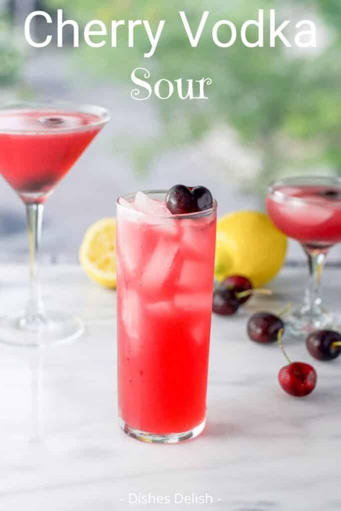 Cherry Vodka Sour for Pinterest 2