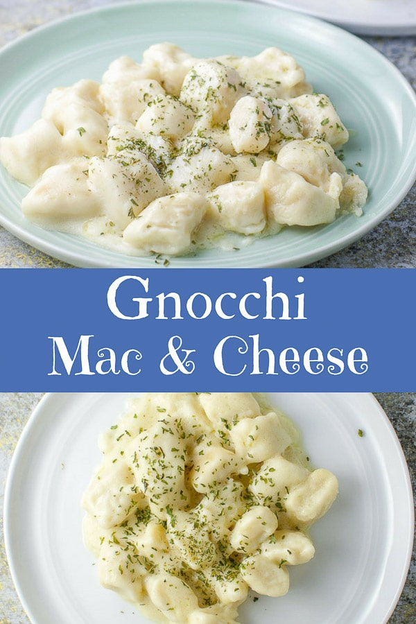 gnocchi mac and cheese for Pinterest