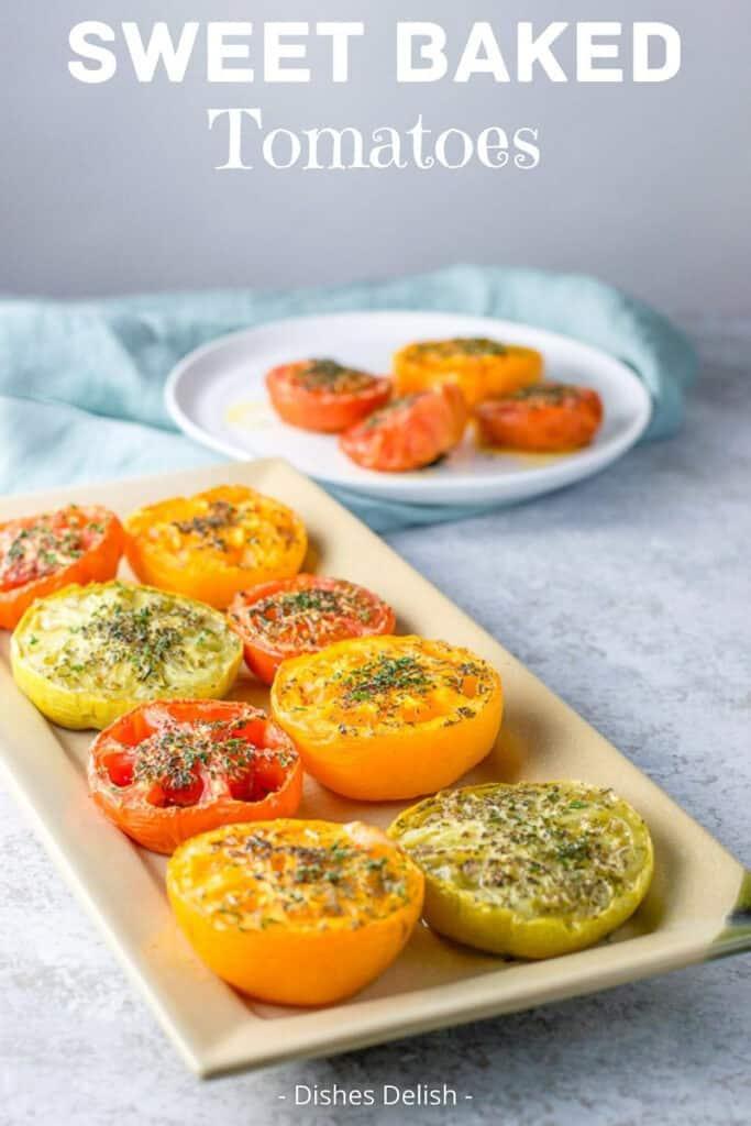 Baked Tomatoes for Pinterest 2