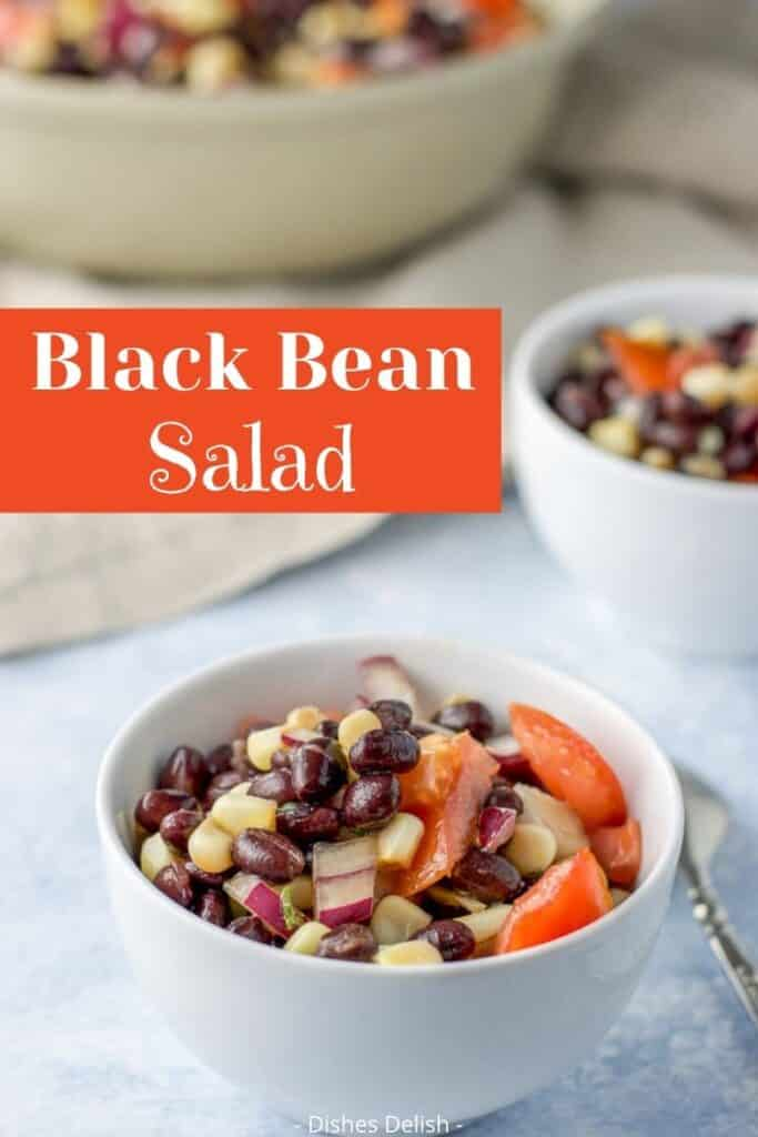 Black Bean Salad with Corn for Pinterest 2