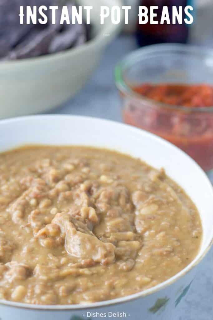 Instant Pot Refried Beans for Pinterest 3