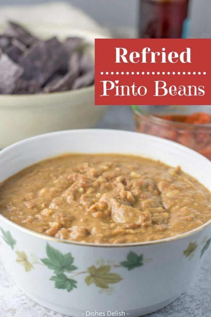 Instant Pot Refried Beans for Pinterest 4