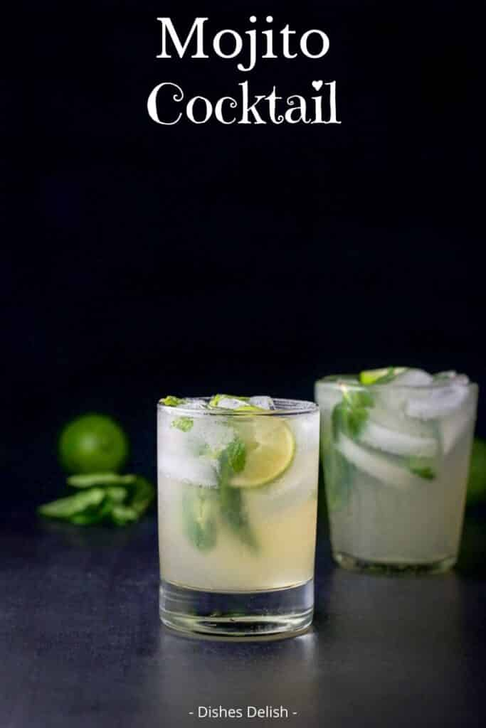 Mojito Cocktail for Pinterest 2