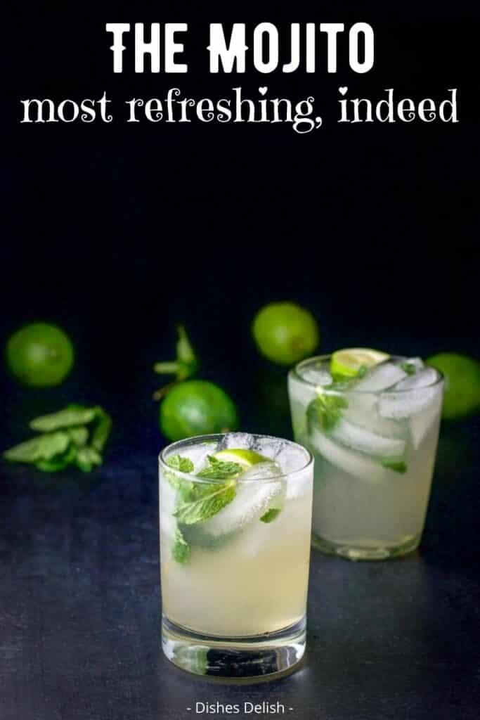 Mojito Cocktail for Pinterest 3