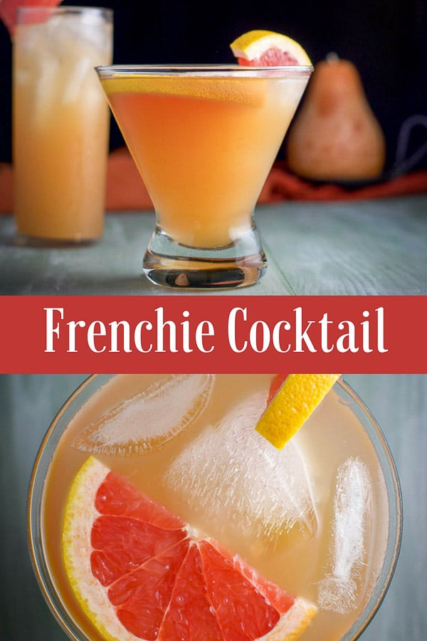 The Frenchie Cocktail for Pinterest