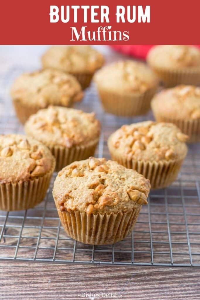 Butter Rum Muffins for Pinterest 3