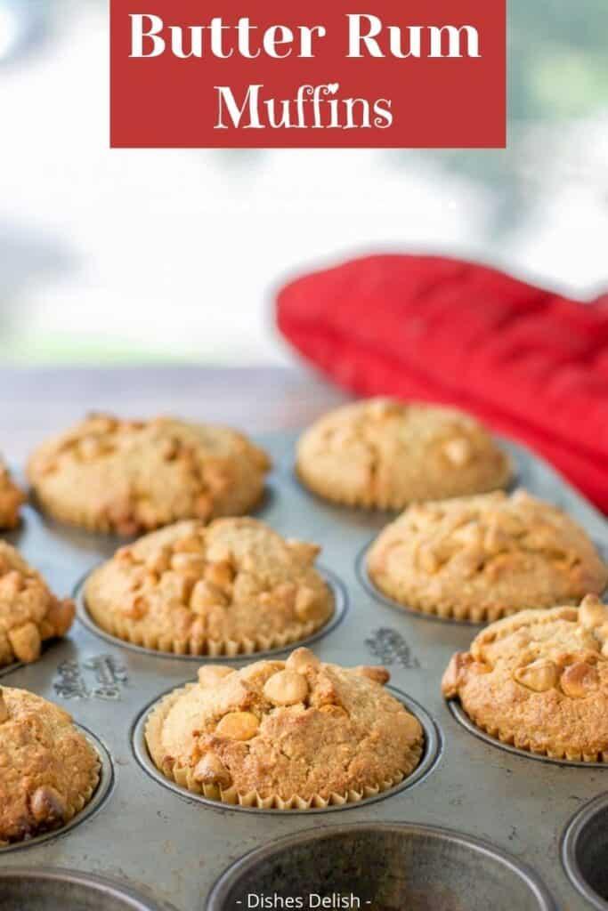 Butter Rum Muffins for Pinterest 4