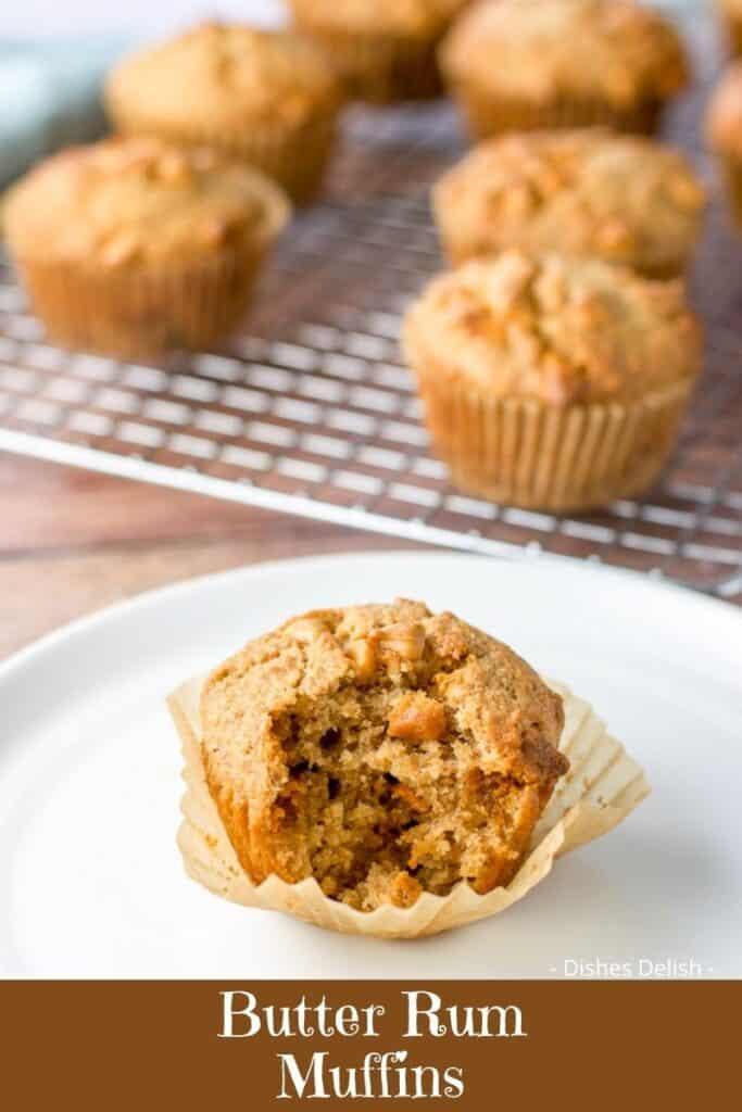 Butter Rum Muffins for Pinterest 5