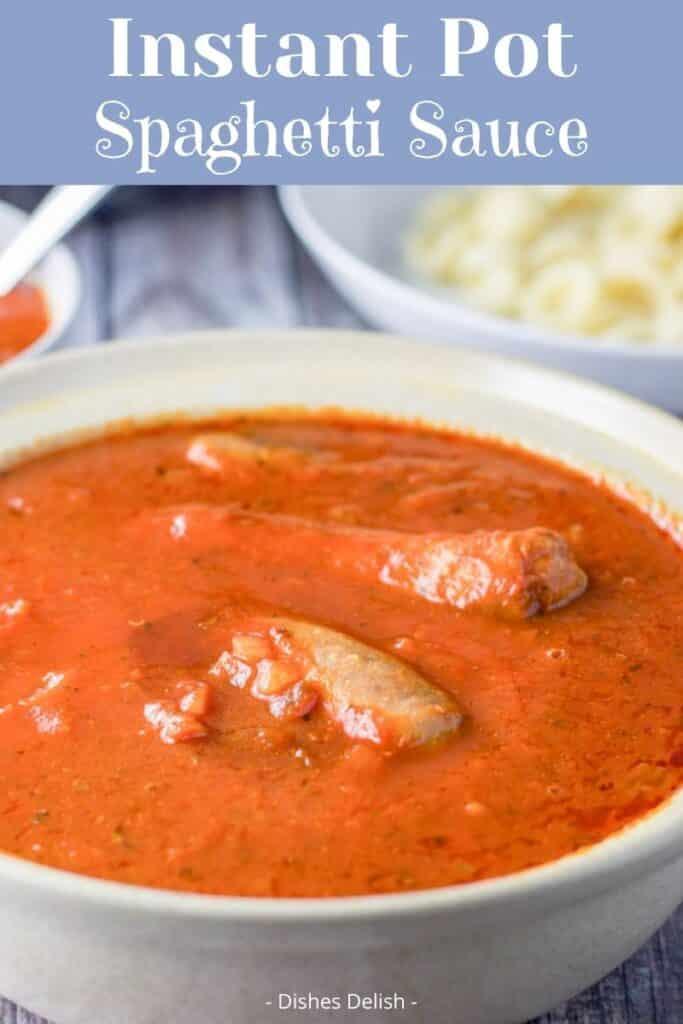 Instant Pot Spaghetti Sauce for Pinterest 2