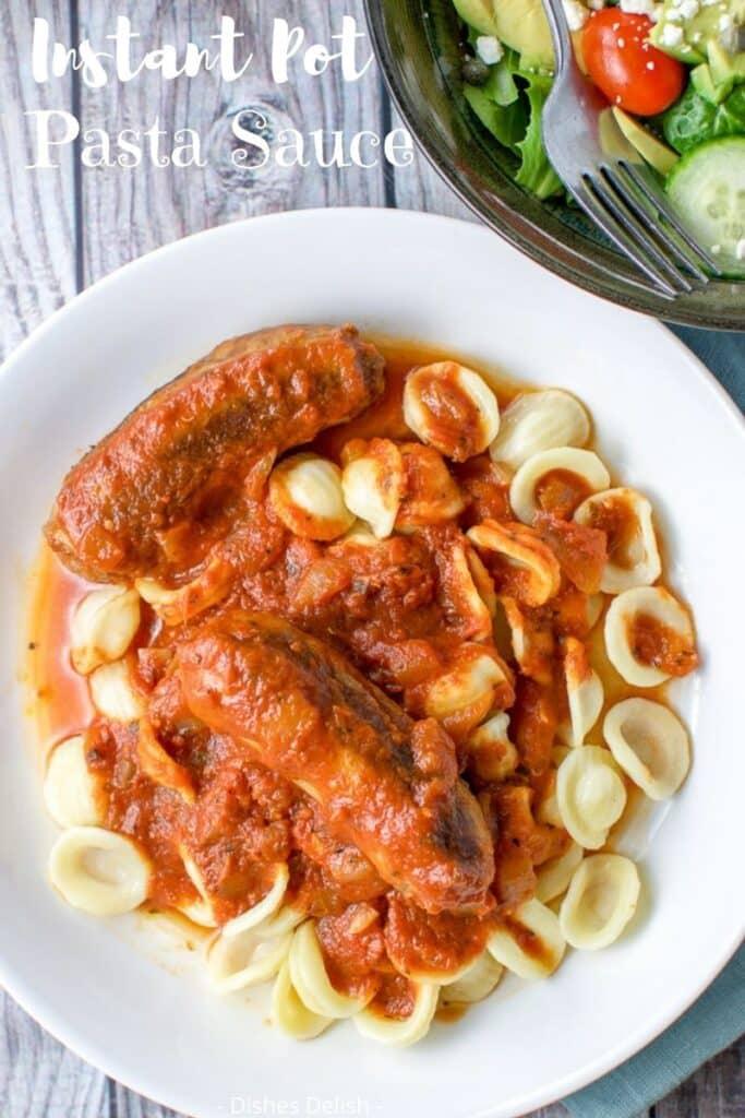 Instant Pot Spaghetti Sauce for Pinterest 4