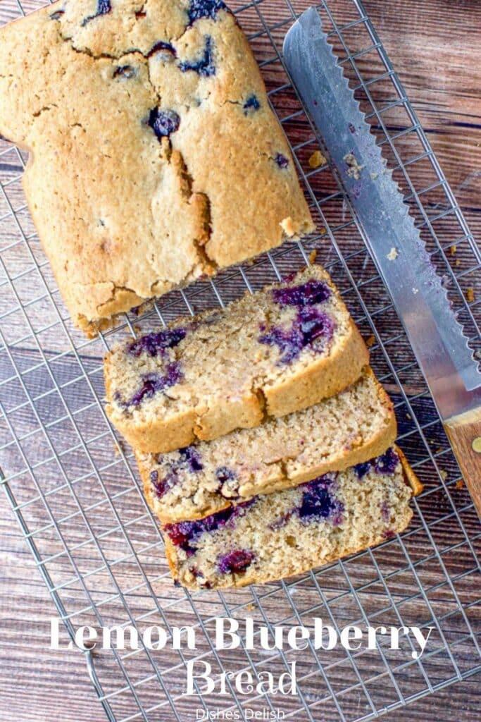 Lemon Blueberry Bread for Pinterest 4
