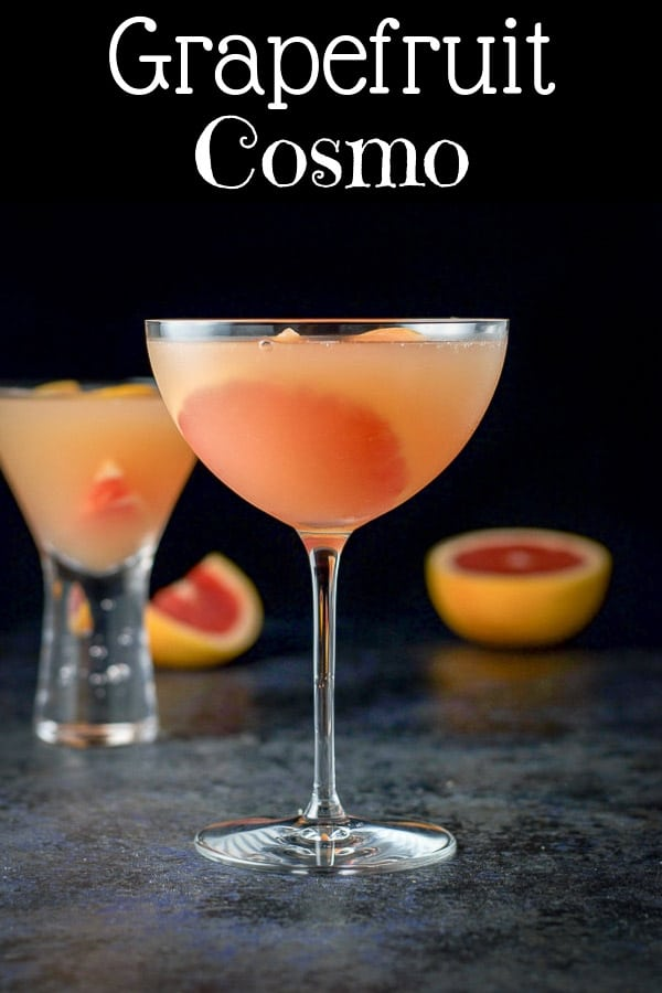 Ruby Red Grapefruit Cosmo for Pinterest
