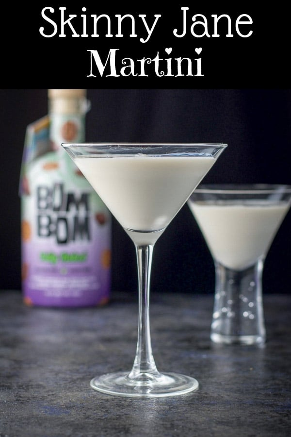 Skinny Jane Martini for Pinterest