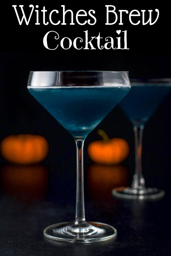 Witches Brew Cocktail for Pinterest