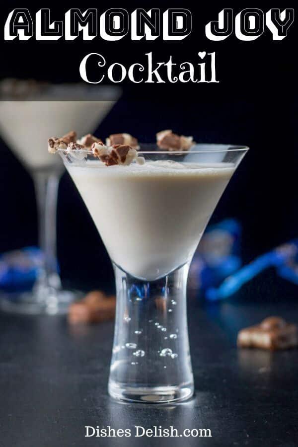 Almond Joy Cocktail for Pinterest
