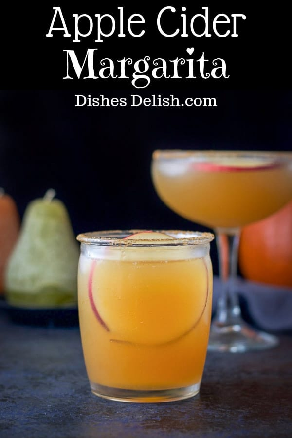 Apple Cider Margarita for Pinterest